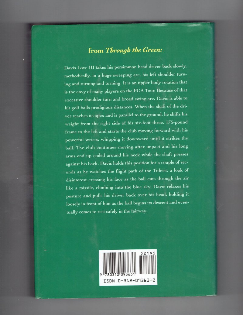 Image 3 of My Life in and Out of the Rough by John Daly Signed Autogrpahed book