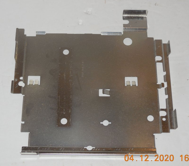Image 0 of Sega Genesis Model 2 OEM Replacement Bottom Metal Shield