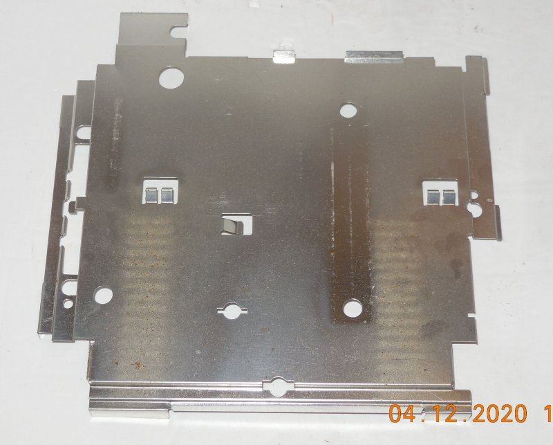Image 1 of Sega Genesis Model 2 OEM Replacement Bottom Metal Shield