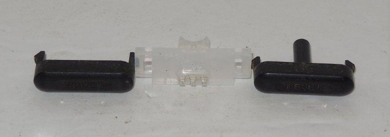 Image 0 of Sega Genesis Model 2 OEM Replacement Button Set Power Reset