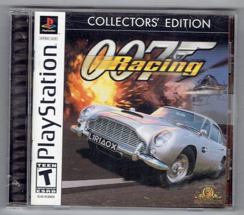 Image 0 of OO7 Racing Collectors Edition Video Game Sony PlayStation 1 2002