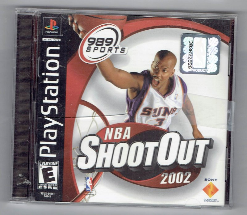 Image 0 of NBA shoot Out 2002 Video Game Sony Video Game Sony PlayStation 1 2001