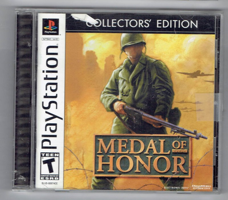 Image 0 of Medal Of Honor Collectors Edition Sony Video Game Sony PlayStation 1 2002