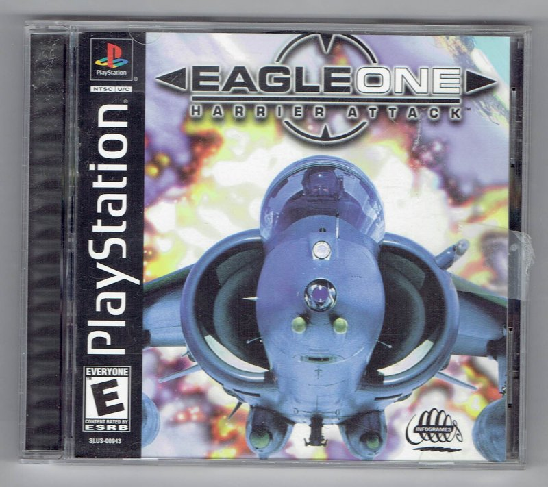 Image 0 of Eagle One Harrier Attack Sony Video Game Sony PlayStation 1 2000