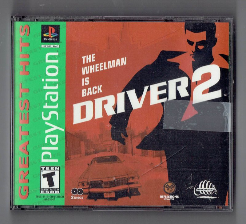 Image 0 of Driver 2 Greatest Hits Sony Video Game Sony PlayStation 1 2001
