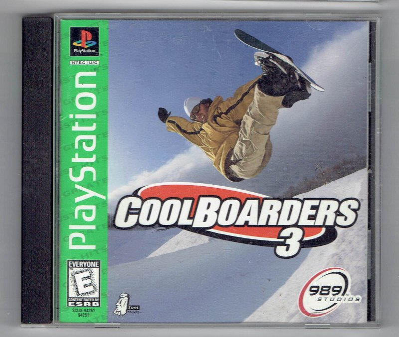 Image 0 of Greatest Hits Cool boarders 3 Sony Video Game Sony PlayStation 1 1998