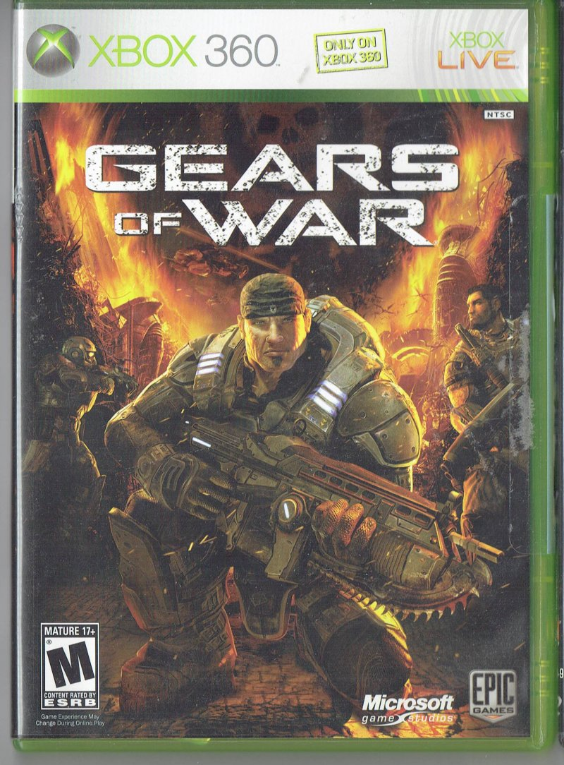 Image 0 of Gears of War Xbox 360 video Game 2006