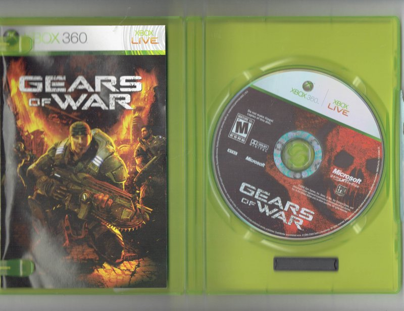 Image 2 of Gears of War Xbox 360 video Game 2006
