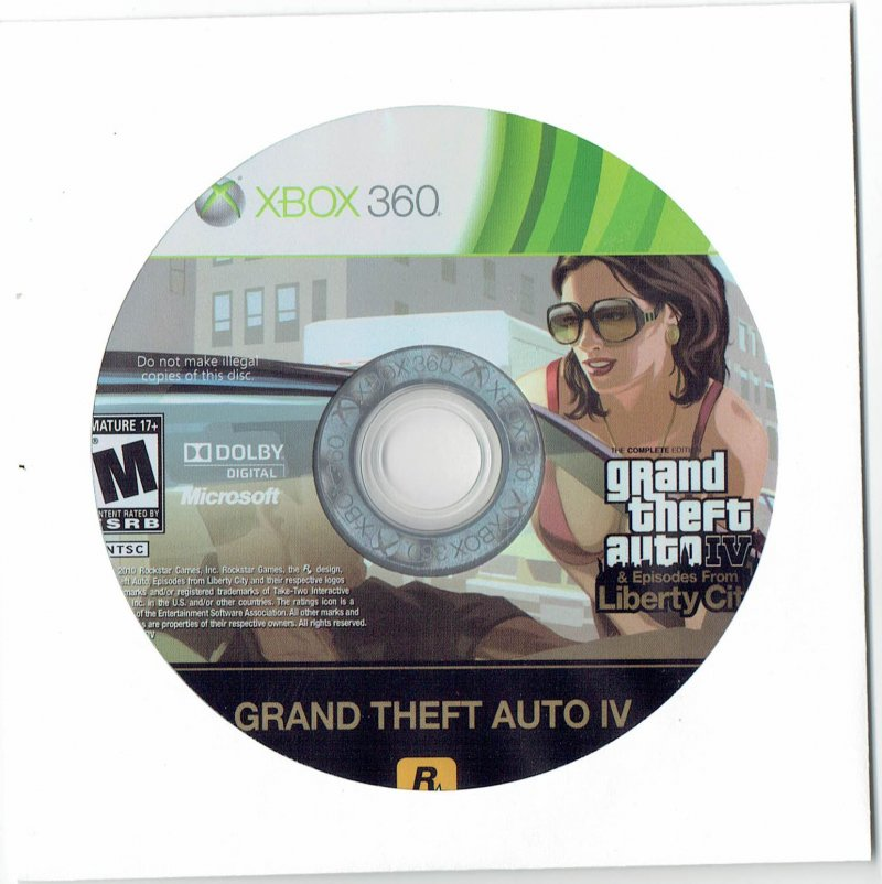 Image 0 of Grand Theft Auto 4 Xbox 360 video Game 2008 Disc Only