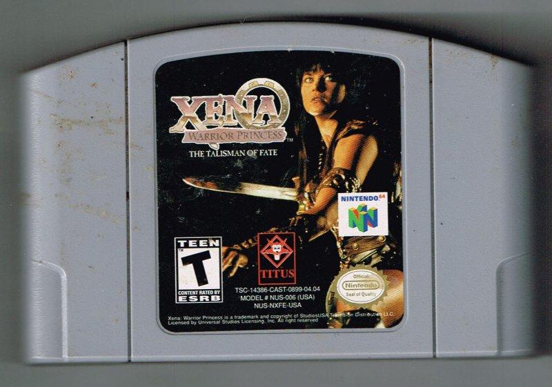 Image 0 of Nintendo N64 Xena Warrior Princess The Talisman of Fate 64 video Game