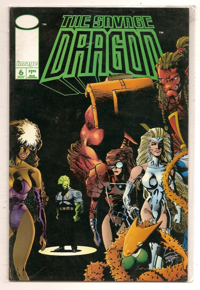 Image 0 of THE SAVAGE DRAGON #6 Nov 1993 Image Comics