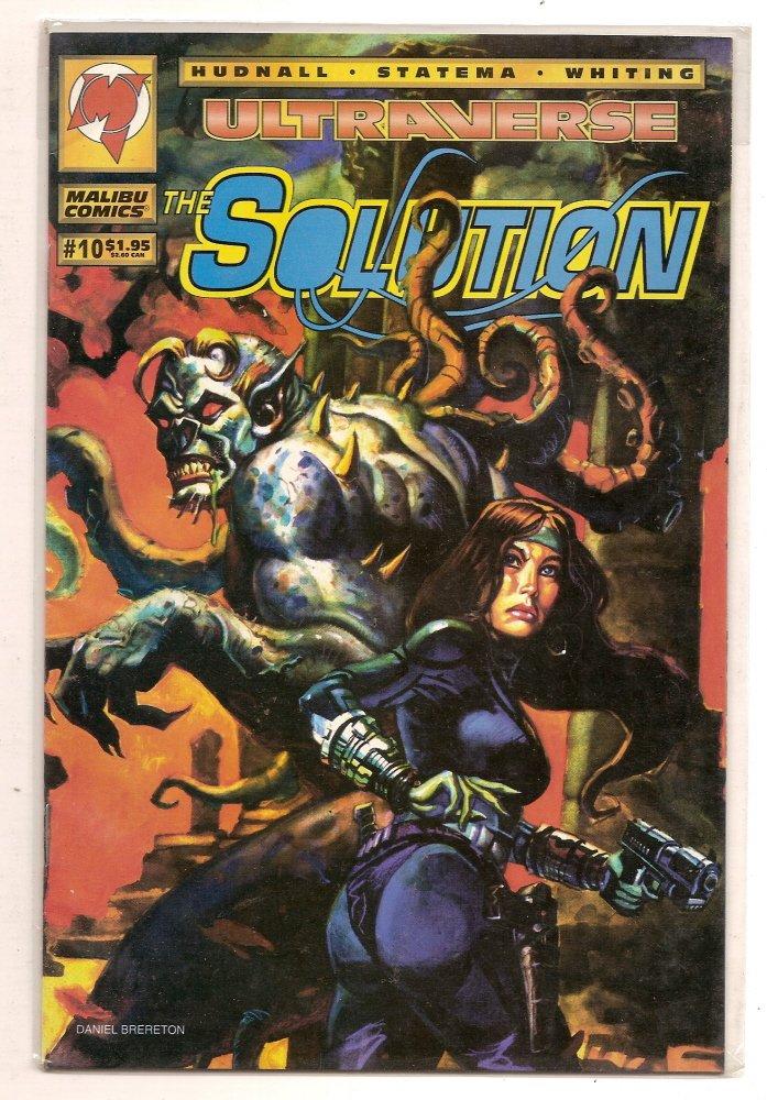 Image 0 of The Solution #10 Malibu Comics