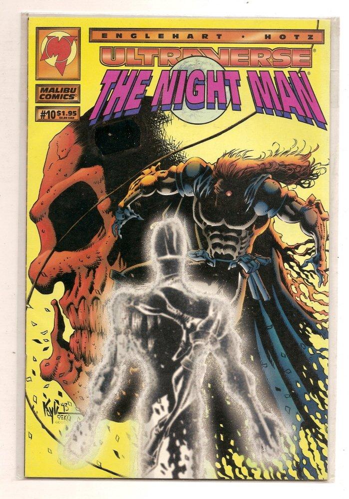 Image 0 of Ultraverse Night Man #10 July 1994 Malibu Comics