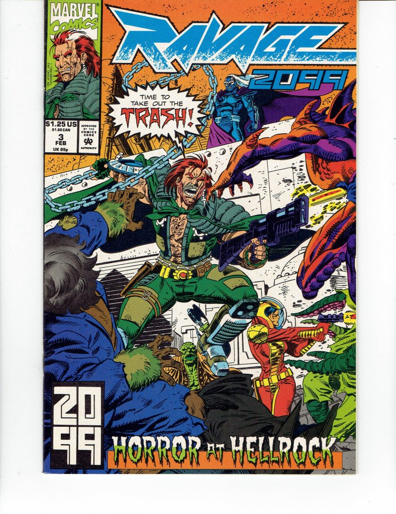 Image 0 of Ravage 2099 #3 - Feb, 93 Marvel Comics