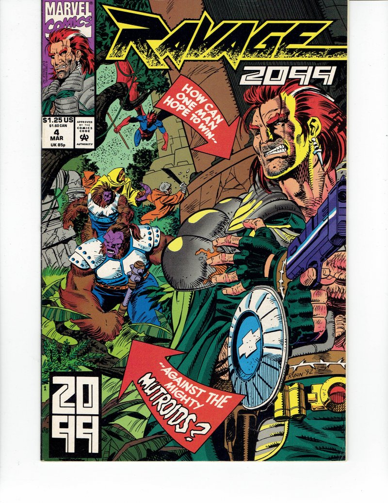 Image 0 of Ravage 2099 #4 - Mar, 93 Marvel Comics