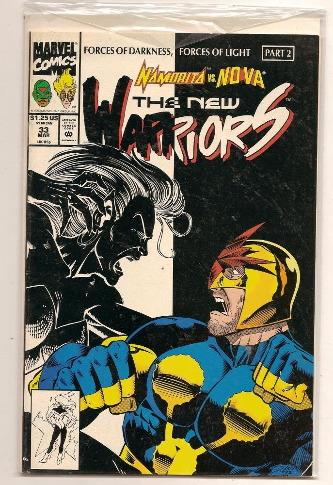 Image 0 of THE NEW WARRIORS #33 March 1993 Marvel Comics