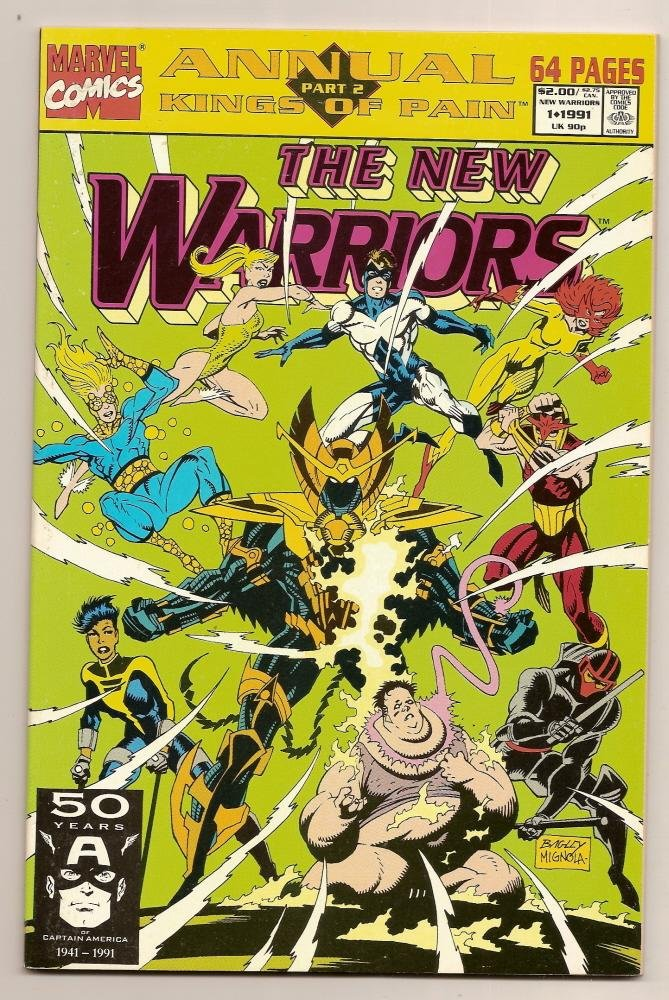 Image 0 of THE NEW WARRIORS ANNUAL,#1, 1991 Marvel Comics