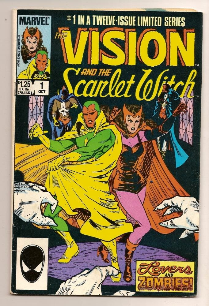 Image 0 of The Vision and the Scarlet Witch #1 Oct 1985 Marvel Comics