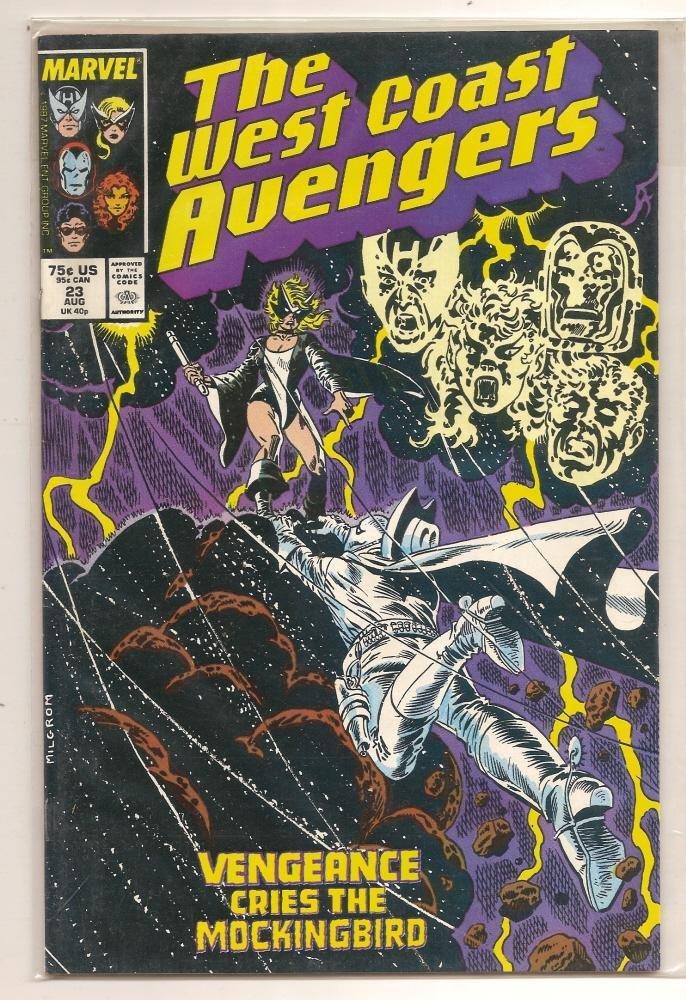 Image 0 of The West Coast Avengers #23 August 1987 Marvel Comics