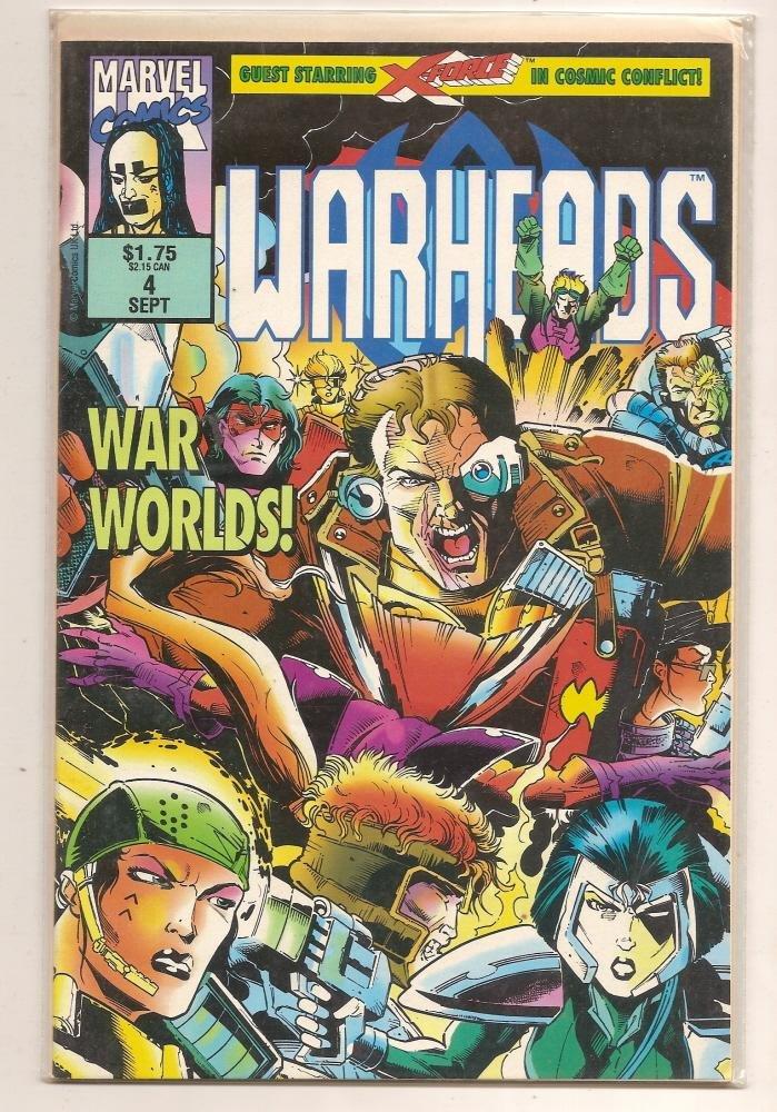 Image 0 of WARHEADS #4 Sept 1992 Marvel Comics