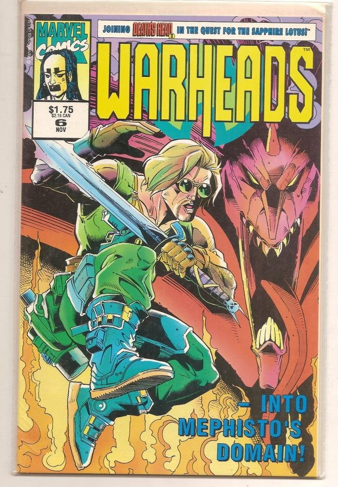 Image 0 of WARHEADS #6 Nov 1992 Marvel Comics