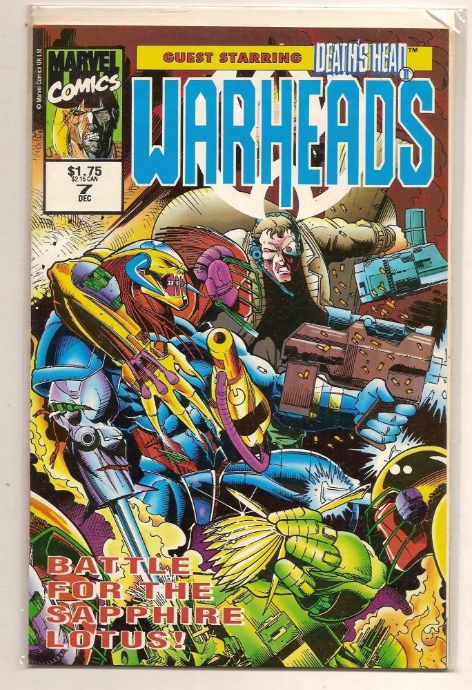 Image 0 of WARHEADS #7 Dec 1992 Marvel Comics