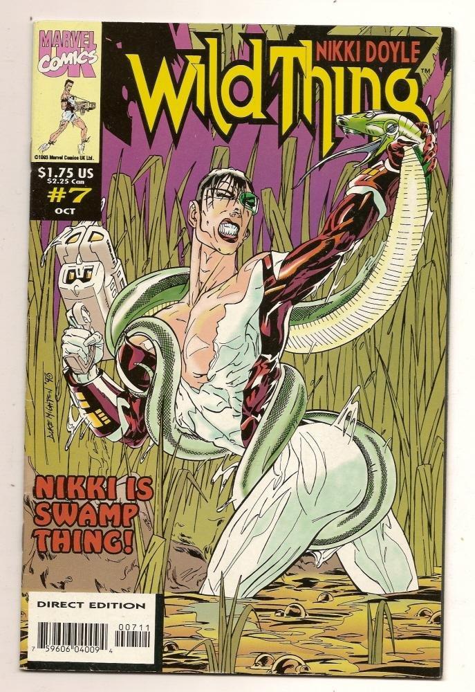 Image 0 of Wild Thing #7 Oct 1993 Marvel Comics