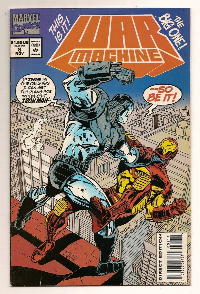 Image 0 of War Machine #8 nov 1994 Marvel Comics