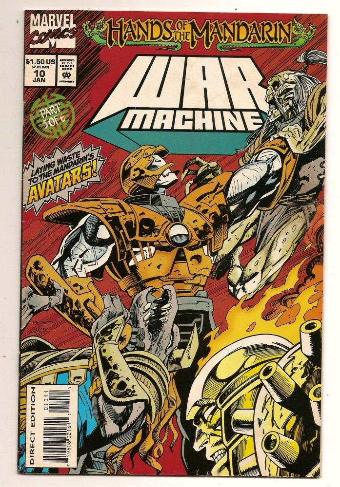 Image 0 of War Machine #10  Jan 1995 Marvel Comics