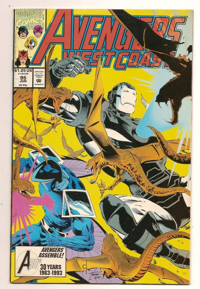 Image 0 of West Coast Avengers #95 jun 1993 Marvel Comics