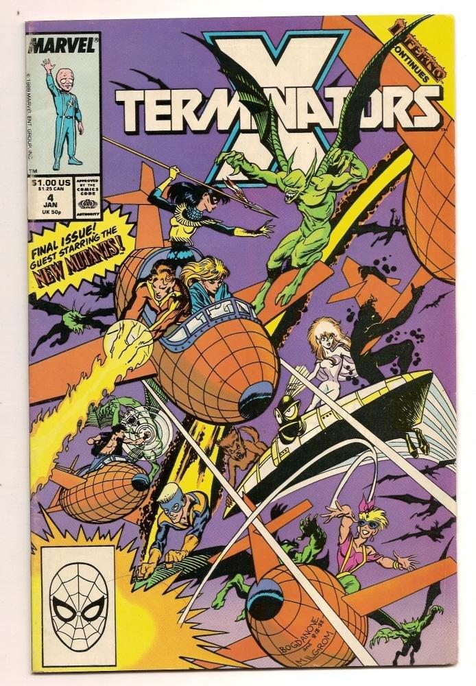 Image 0 of X Termnators #4 Jan 1988 Marvel Comics