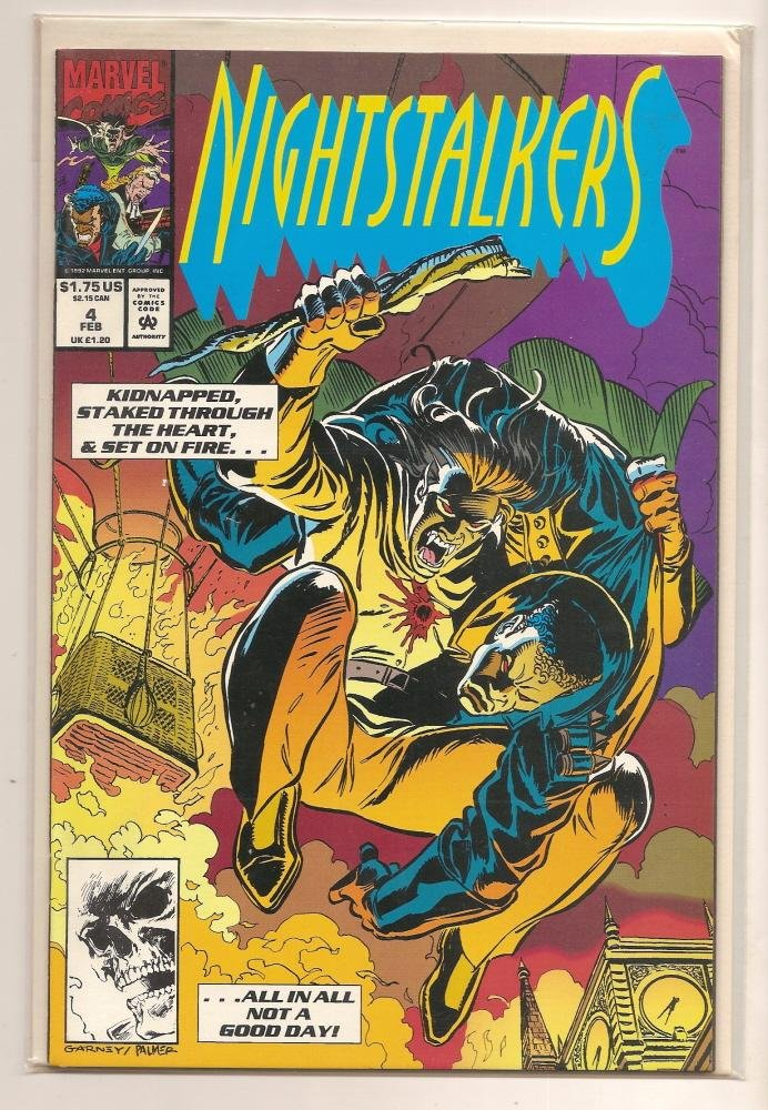 Image 0 of Nightstalkers #4 - Marvel Comics - Feb, 93 Marvel Comics