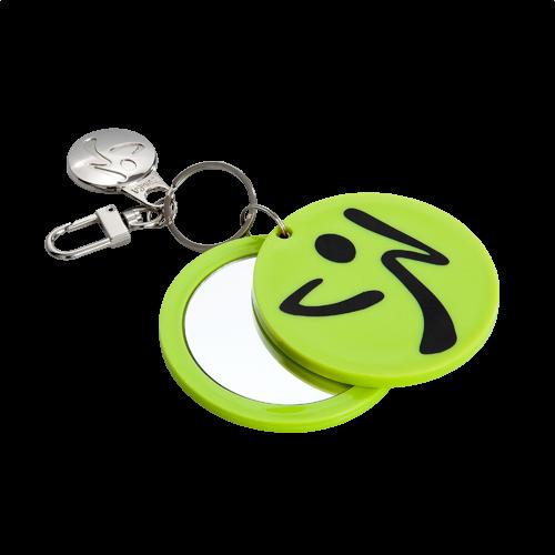 Zumba mirror keychain green for Mirror zumba