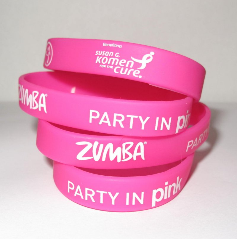 Zumba Party In Pink (TM) Thin Bracelets 4-Pack