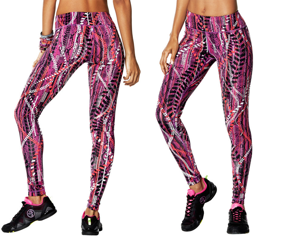 Zumba Fitness Leggings: Zumba Repstyle Perfect Long Leggings Size XXL Only