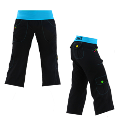 Thumbnail of  Zumba Highlighter Cargo Capri Pants size XS - Black