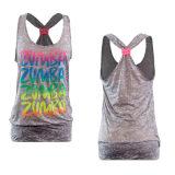 Thumbnail of Zumba Rainbow Bubble Tank - Gray