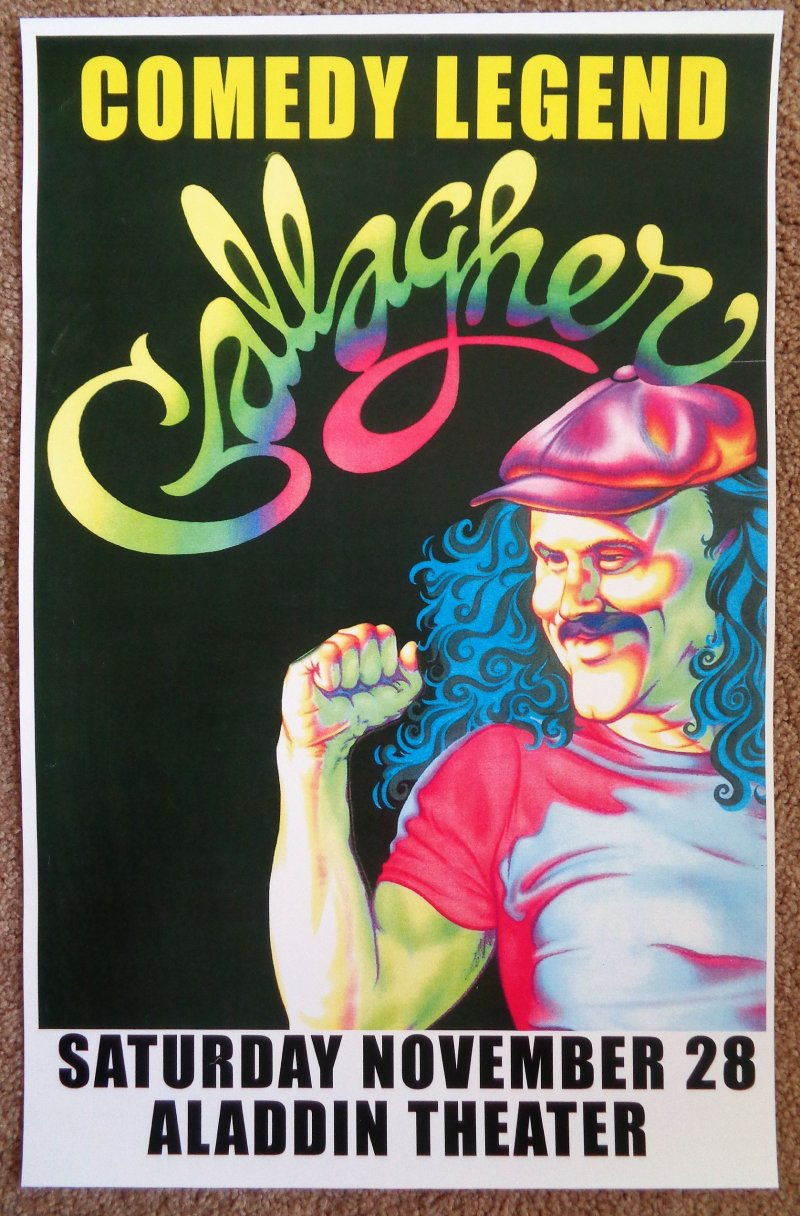 Image 0 of GALLAGHER Comedian 2009 Gig POSTER Portland Oregon Comedy