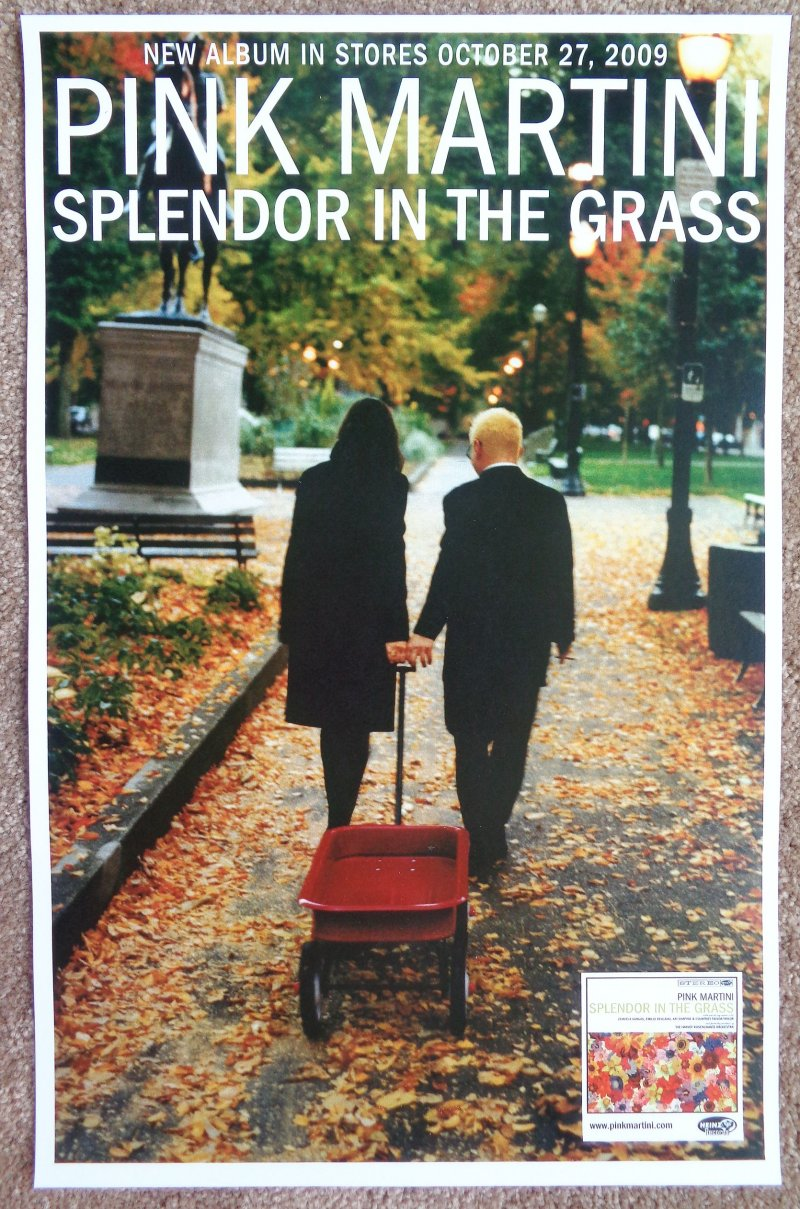 Image 0 of PINK MARTINI POSTER Splendor In The Grass Album 11x17 (Version 1)
