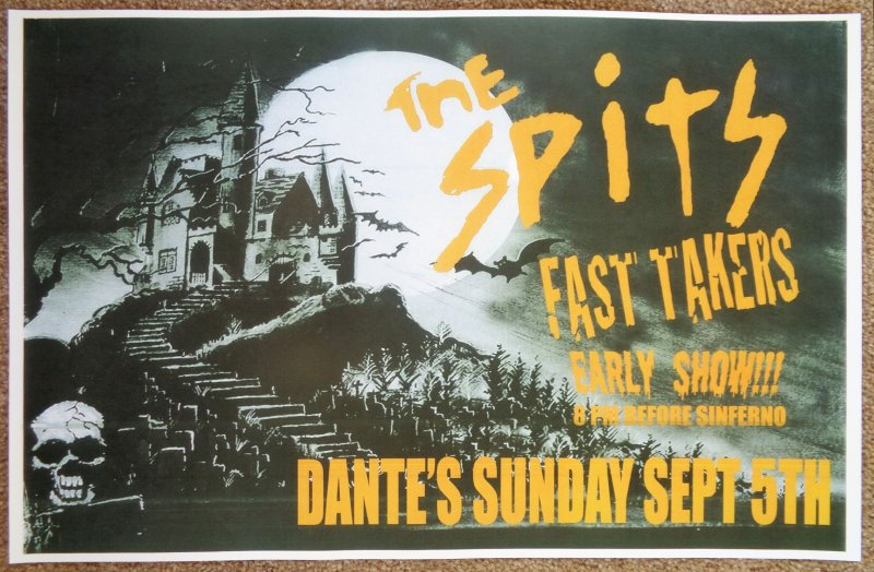 Image 0 of Spits THE SPITS Portland Oregon 2010 Gig Concert POSTER