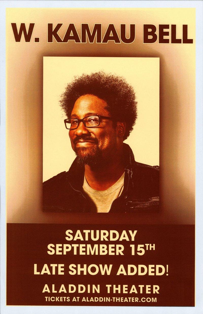 Bell W. KAMAU BELL 2018 POSTER Comedy Gig Portland Oregon