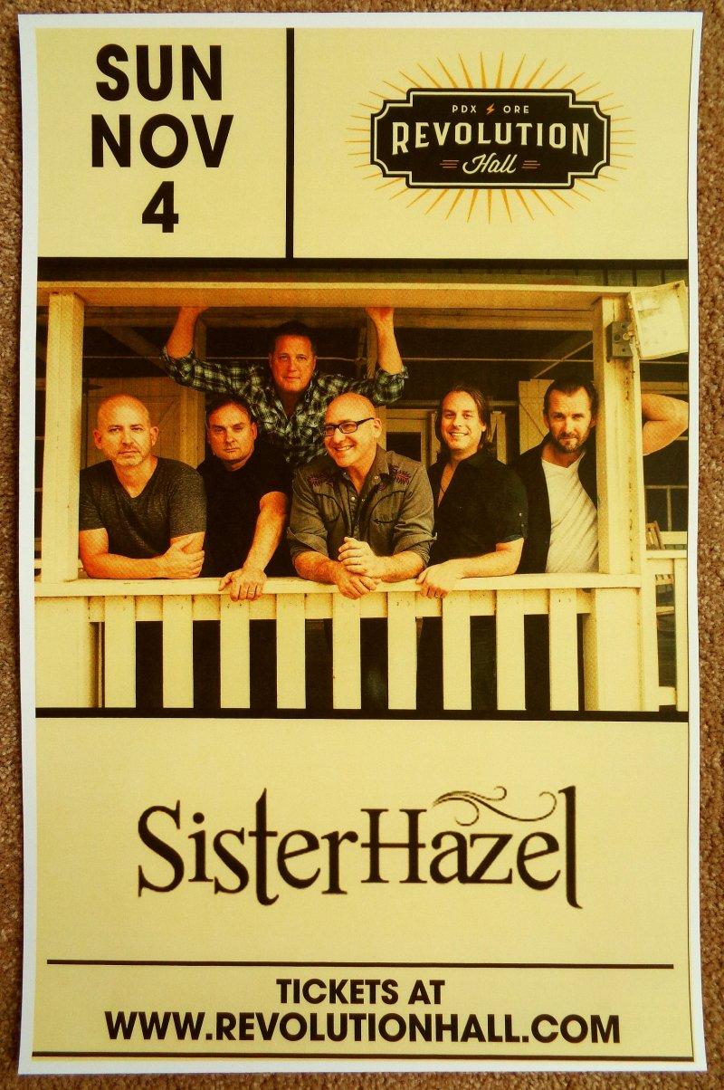 Image 0 of SISTER HAZEL 2018 Gig POSTER Portland Oregon Concert