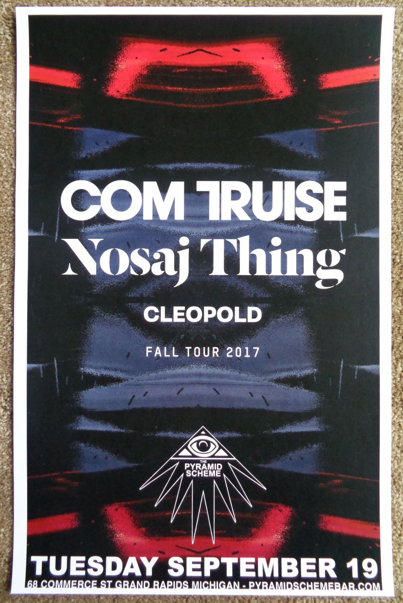 Image 0 of Truise COM TRUISE 2017 Gig POSTER Grand Rapids Michigan Concert