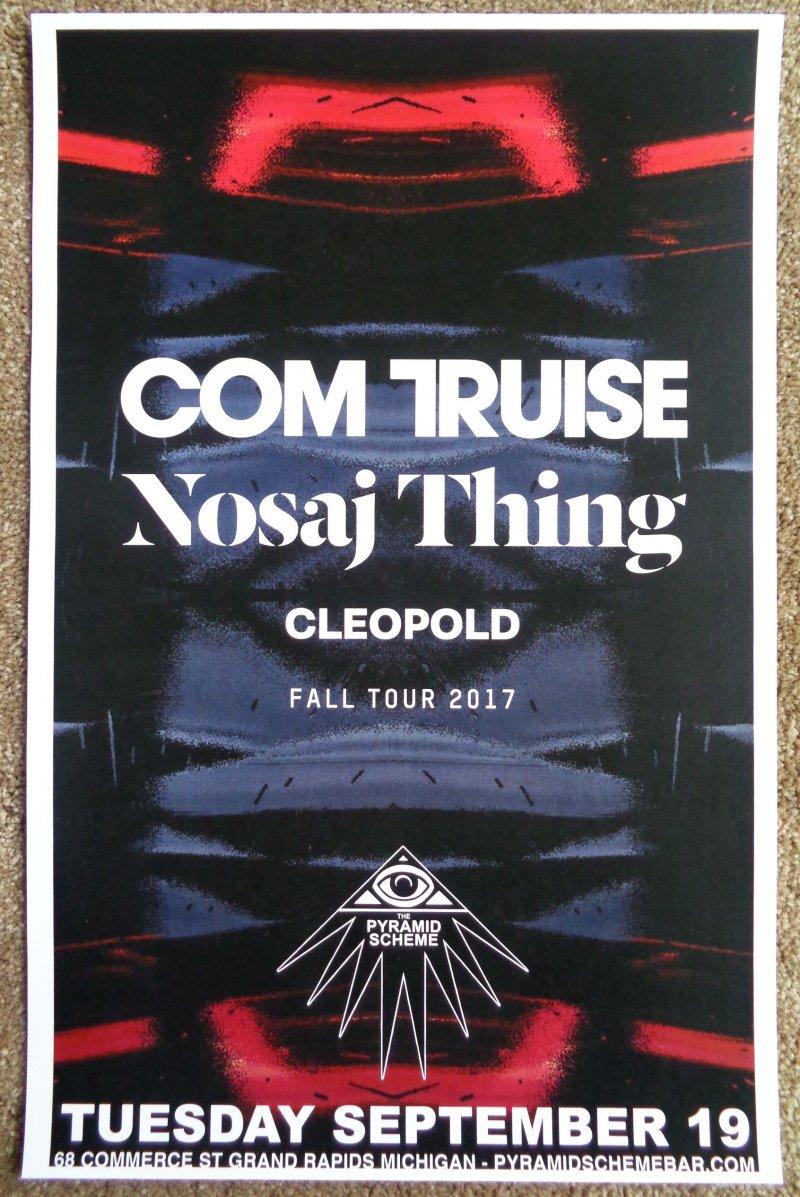 Truise COM TRUISE 2017 Gig POSTER Grand Rapids Michigan Concert