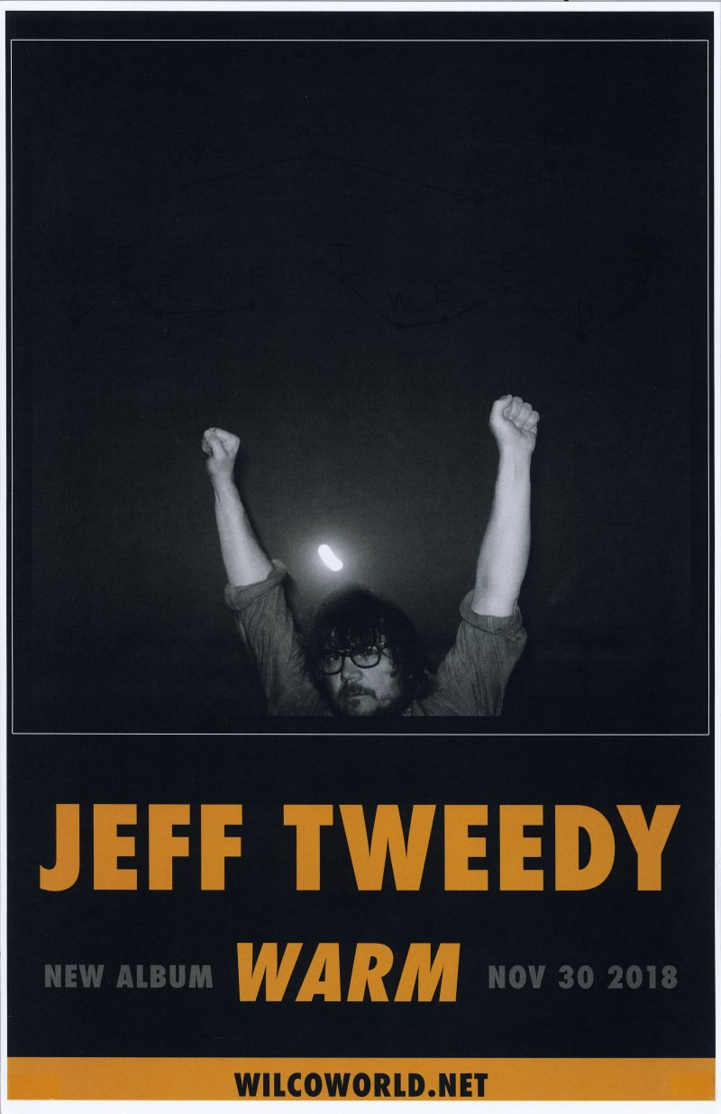 Tweedy JEFF TWEEDY WILCO Album POSTER Warm 11x17