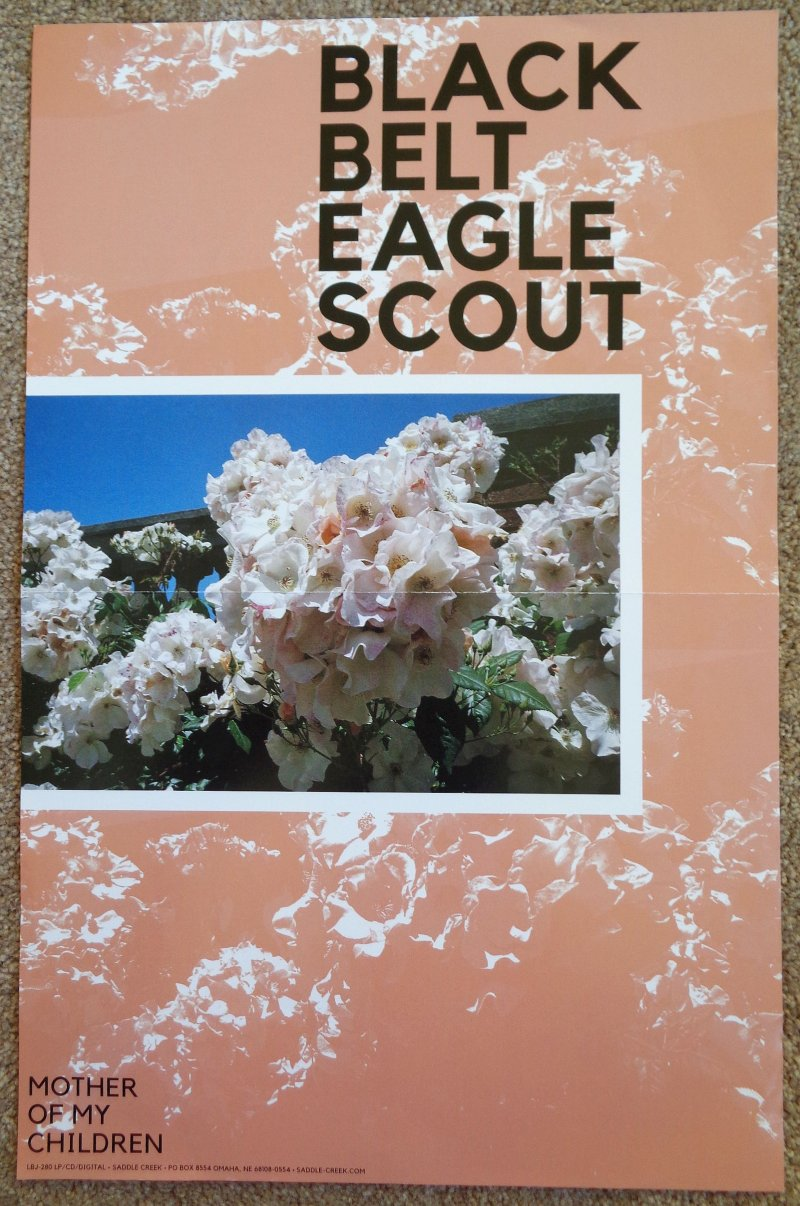 Image 0 of BLACK BELT EAGLE SCOUT Album POSTER Mother of My Children