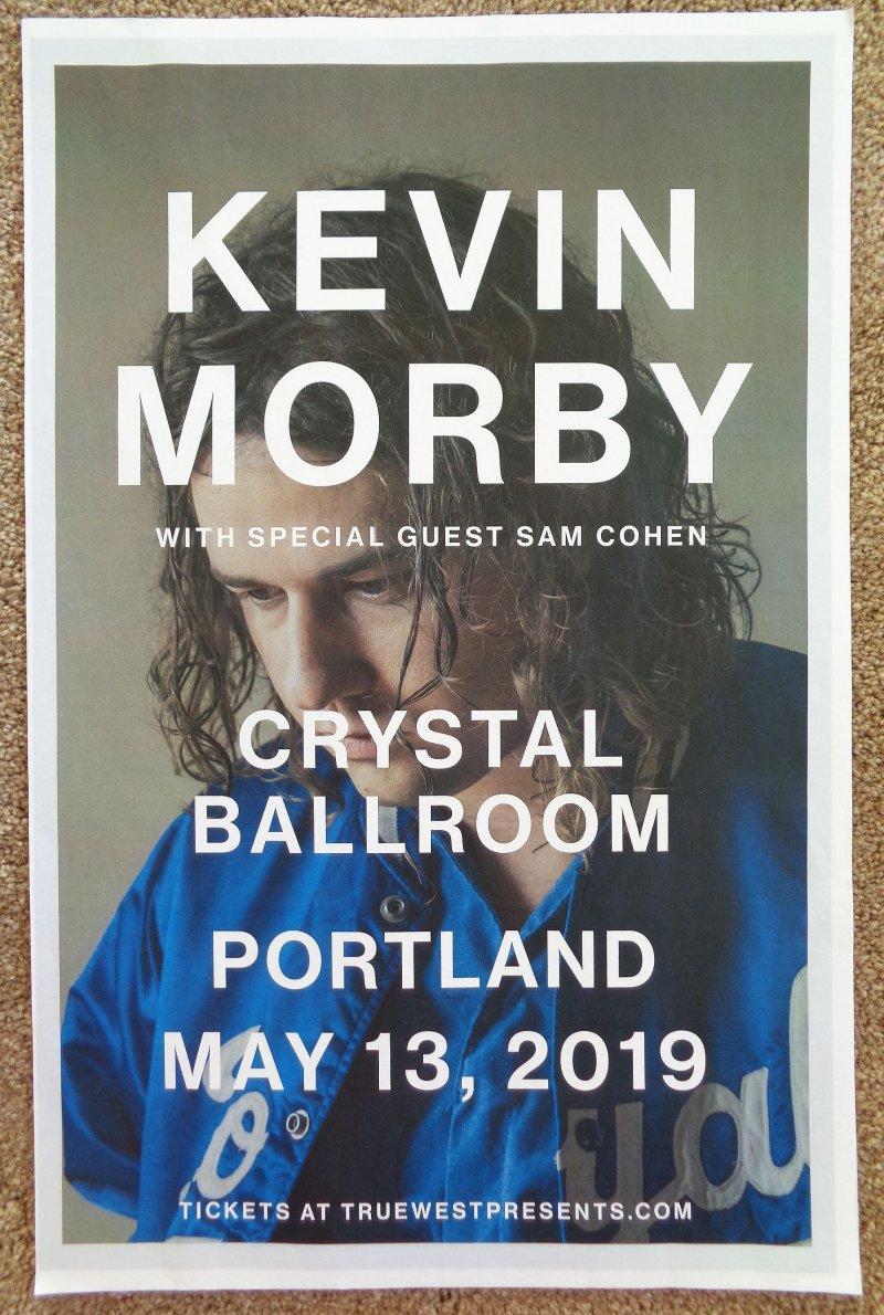 Morby KEVIN MORBY 2019 Gig POSTER Portland Oregon Concert