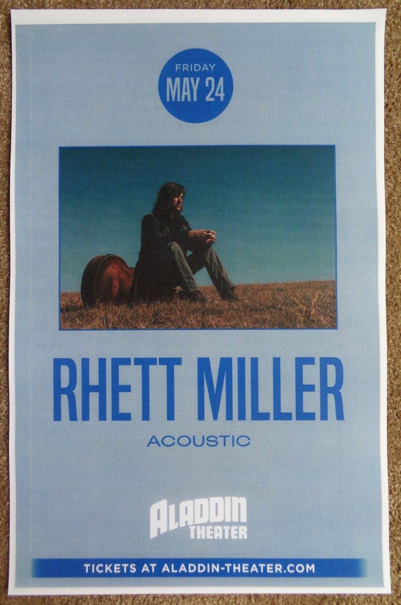 Miller RHETT MILLER 2019 Gig POSTER Portland Oregon OLD 97?s Concert