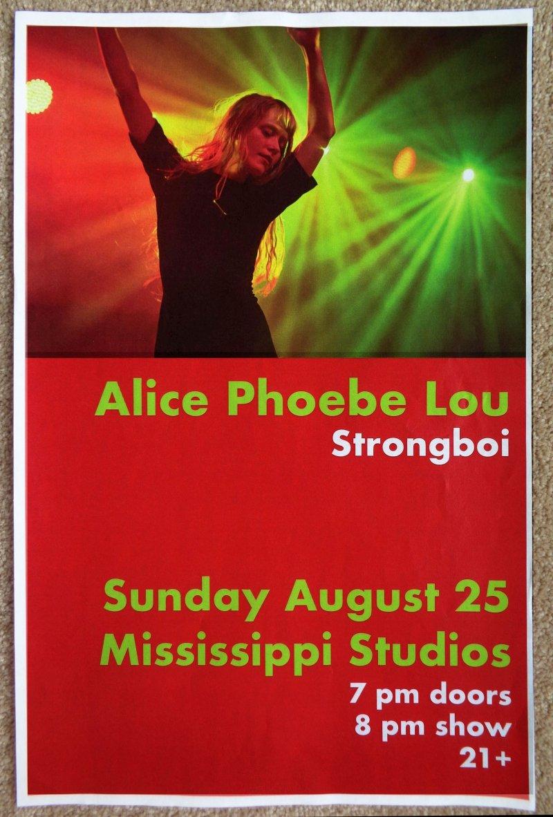 Image 0 of Lou ALICE PHOEBE LOU 2019 POSTER Gig Portland Oregon Concert