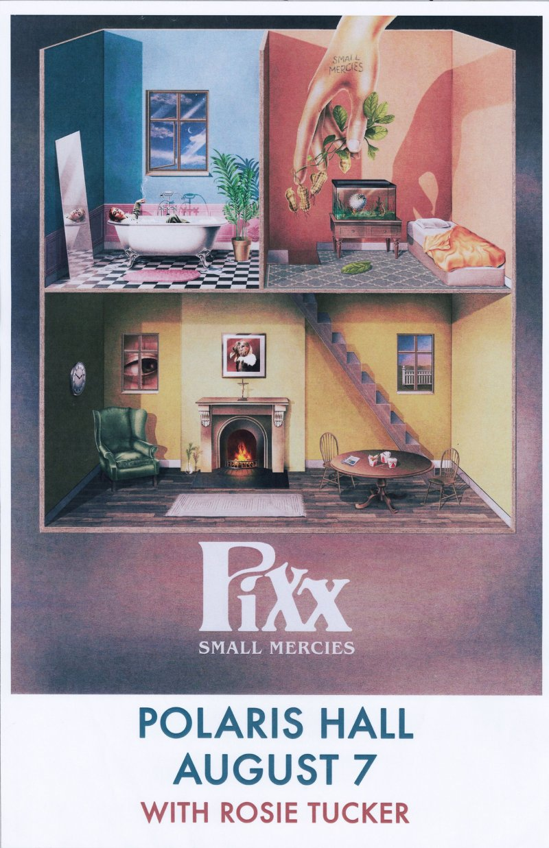 PIXX 2019 Gig POSTER Portland Oregon Concert Small Mercies Hannah Rodgers
